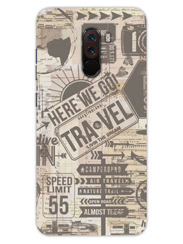 Wanderlust Graffiti Xiaomi Poco F1 Mobile Cover Case