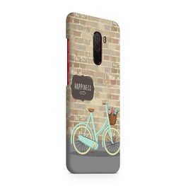 Enjoy The Ride With Bycycle Xiaomi Poco F1 Mobile Cover Case