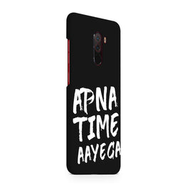 Apna Time Ayega Movie Song Xiaomi Poco F1 Mobile Cover Case
