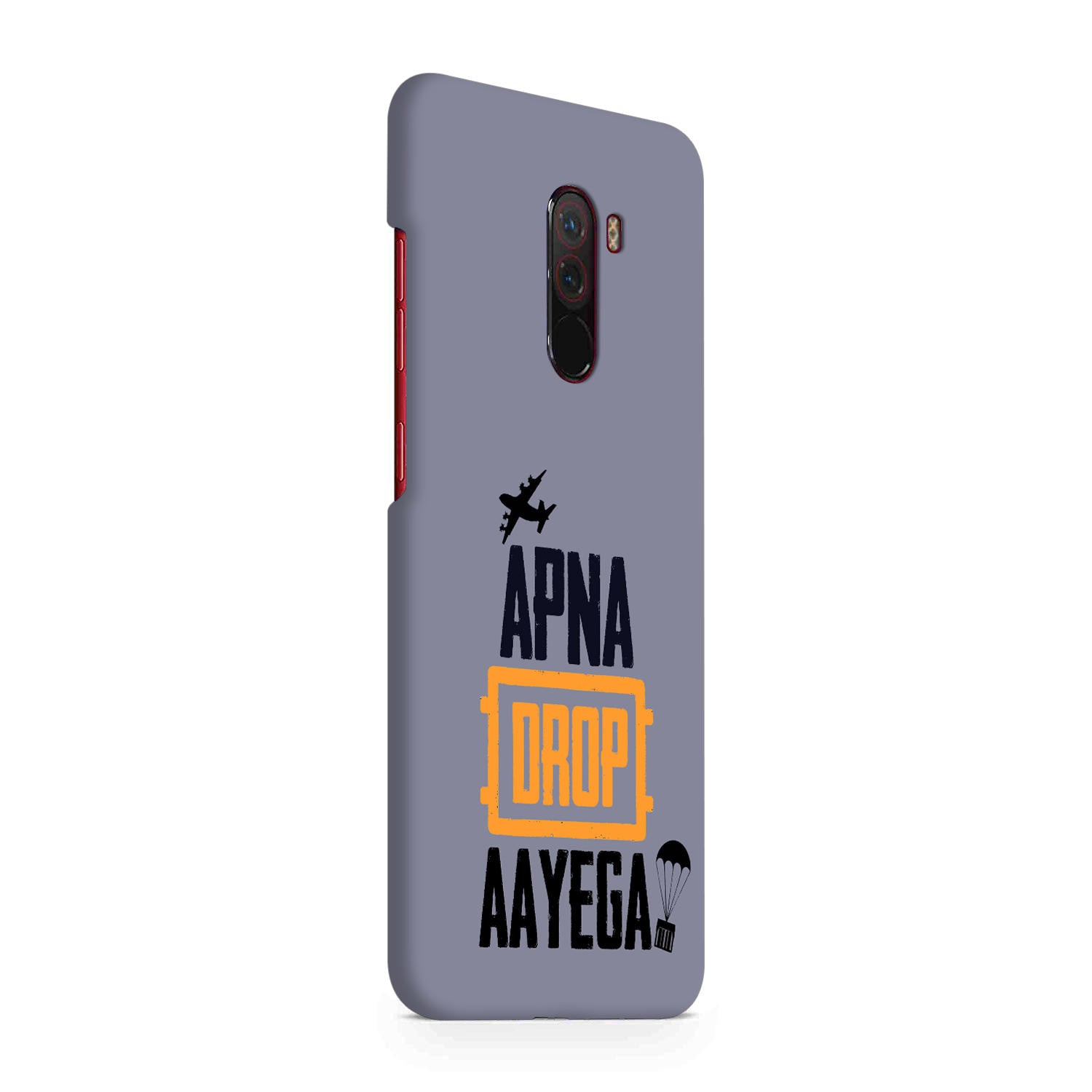 Apna Drop Aayega Game Lovers Xiaomi Poco F1 Mobile Cover Case