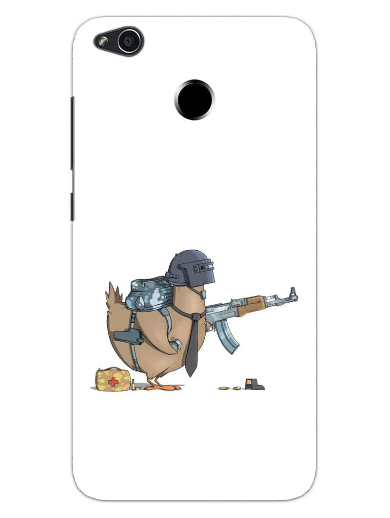 Chicken Soldier Pub G Lover RedMi 4 Mobile Cover Case - MADANYU