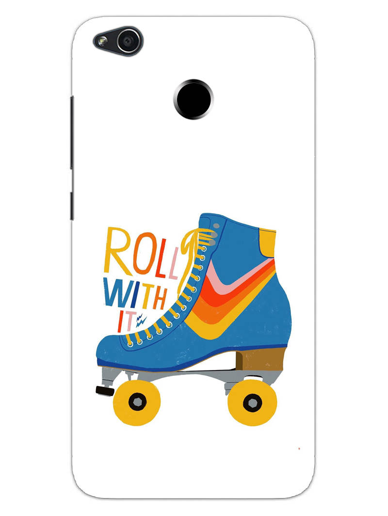 Roller Skate Play With Fun RedMi 4 Mobile Cover Case - MADANYU