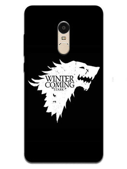 Winter Is Coming RedMi Note 4 Mobile Cover Case