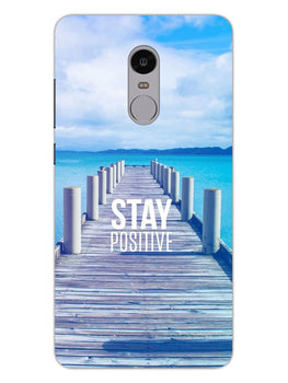 Stay Positive RedMi Note 4 Mobile Cover Case
