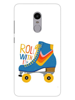 Roller Skate Play With Fun RedMi Note 4 Mobile Cover Case
