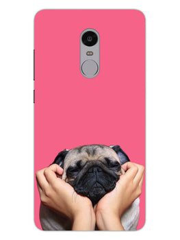 Funny Pug Dog Lovers RedMi Note 4 Mobile Cover Case