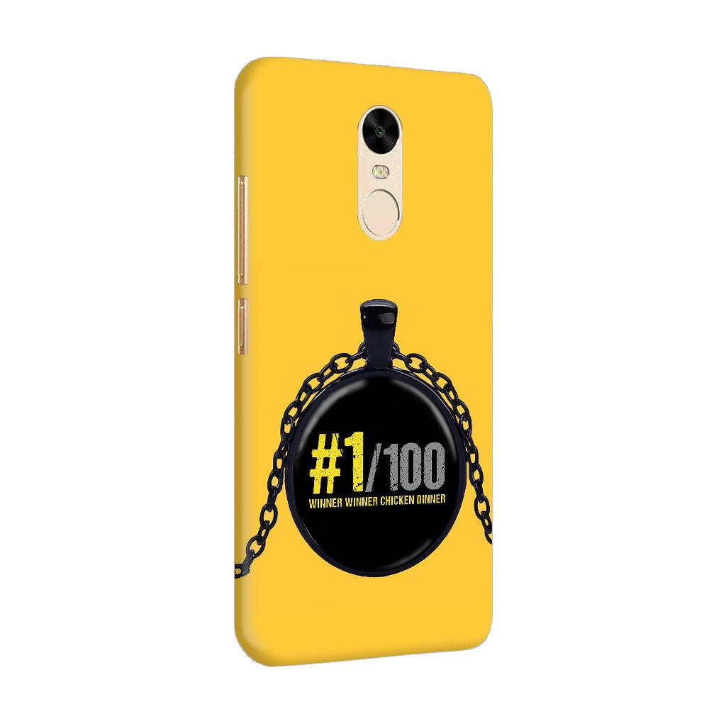 Only One Can Servive Out Of 100 Typography Art RedMi Note 4 Mobile Cover Case - MADANYU