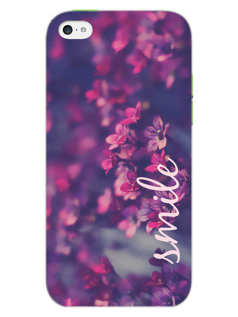 Floral Smile iPhone 5S Mobile Cover Case