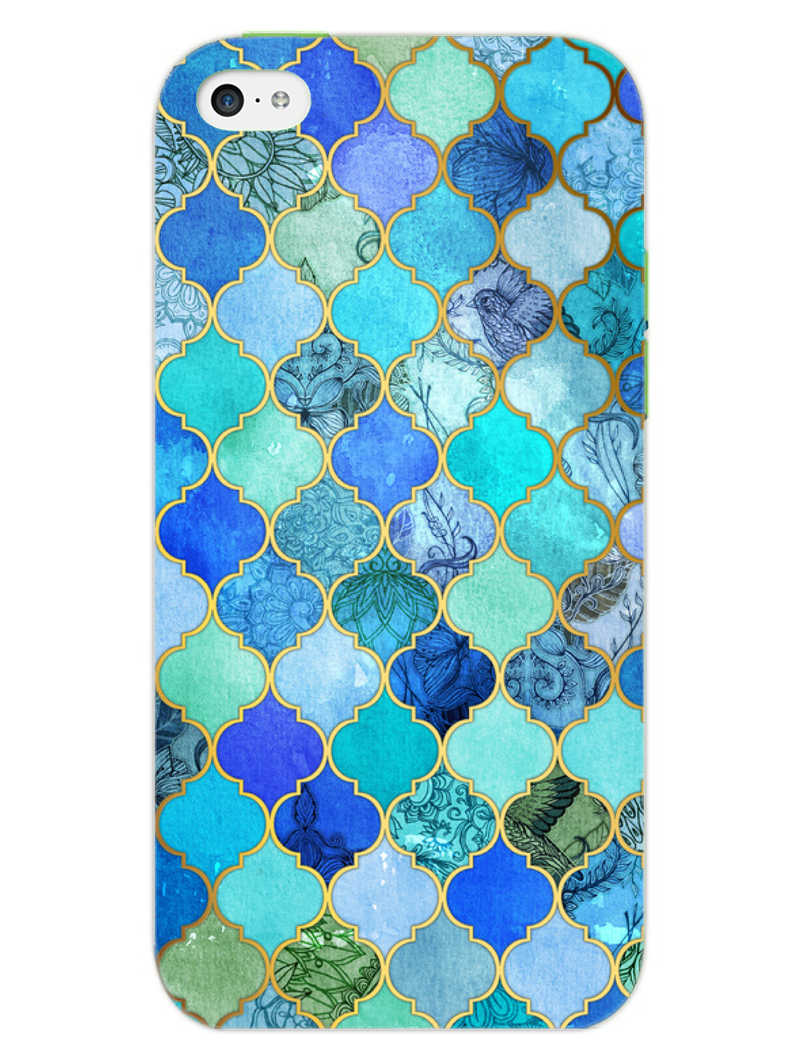 Morroccan Pattern iPhone 5S Mobile Cover Case - MADANYU