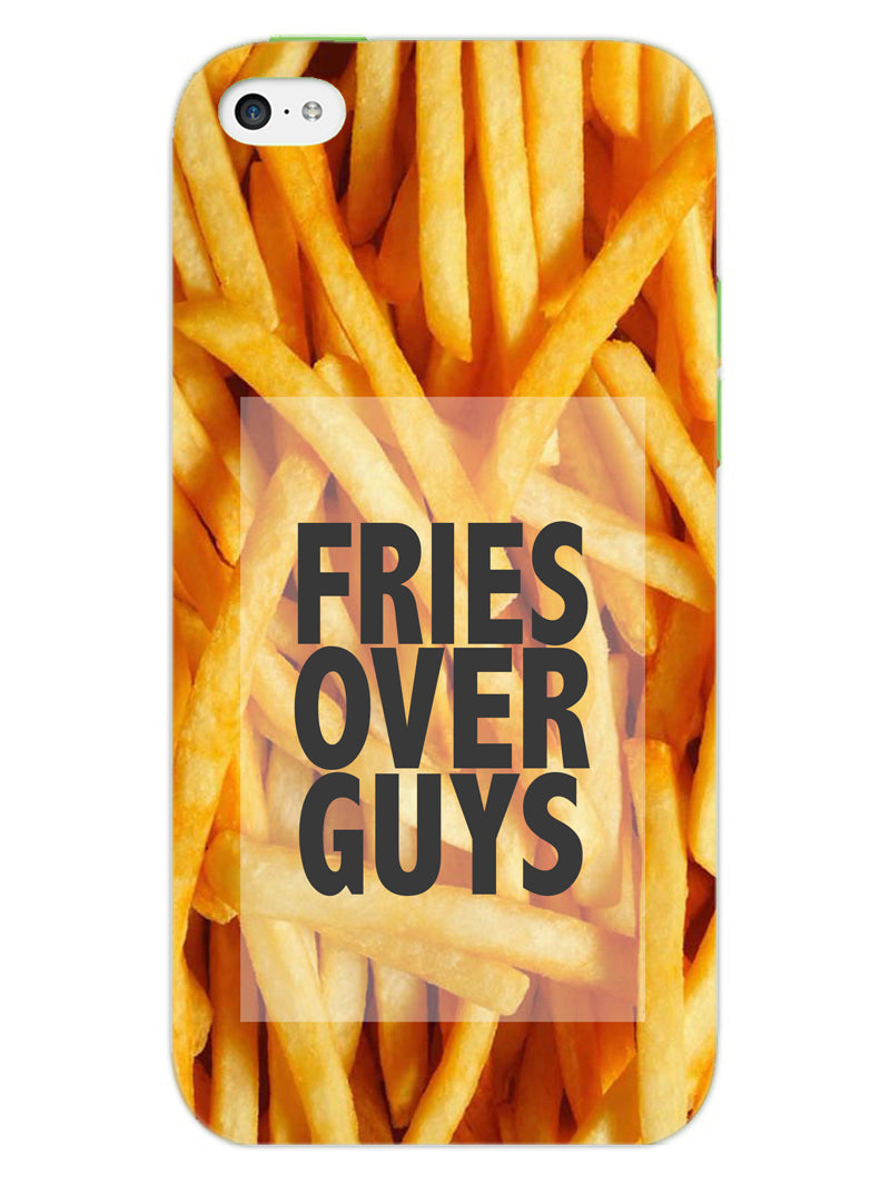 Fries Over Guys iPhone 5S Mobile Cover Case - MADANYU