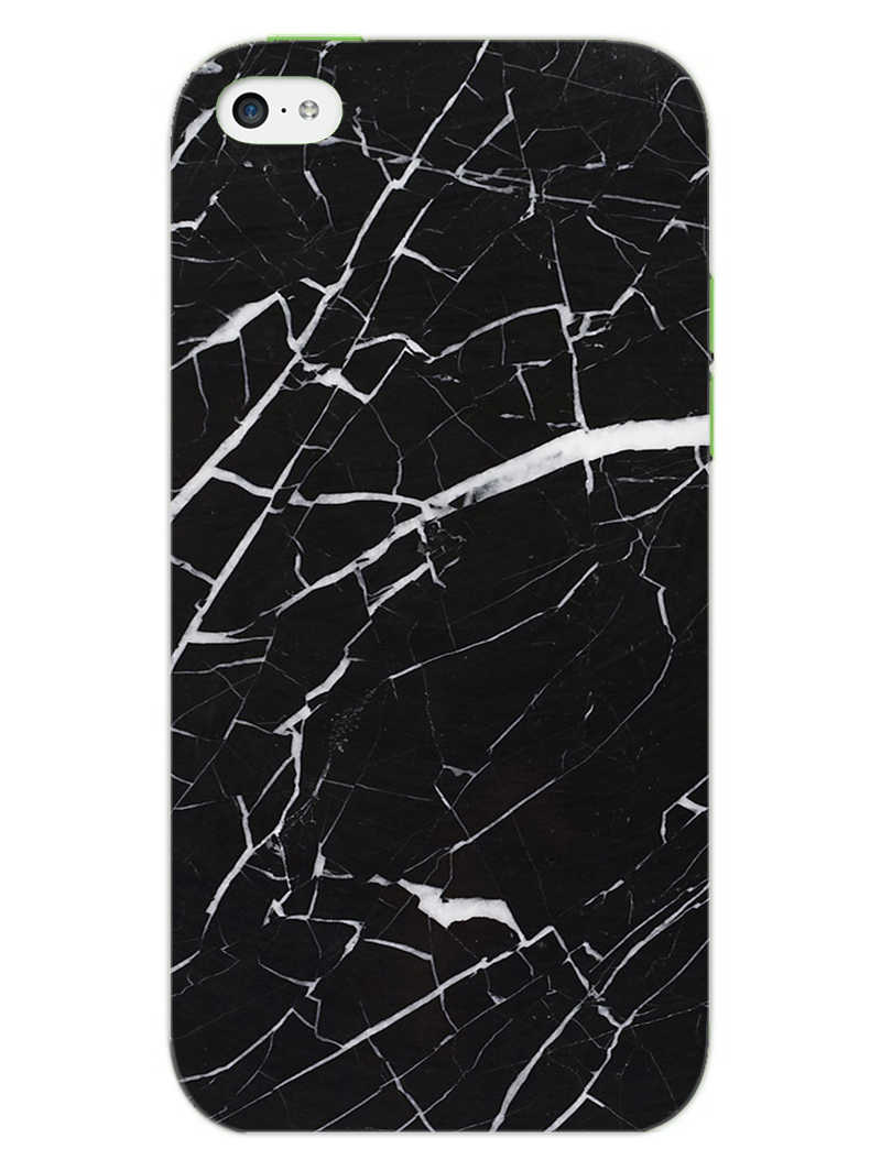 Dark Marble iPhone 5S Mobile Cover Case