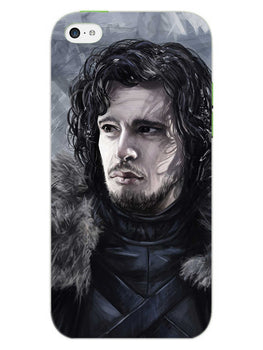 Jon Snow iPhone 5S Mobile Cover Case