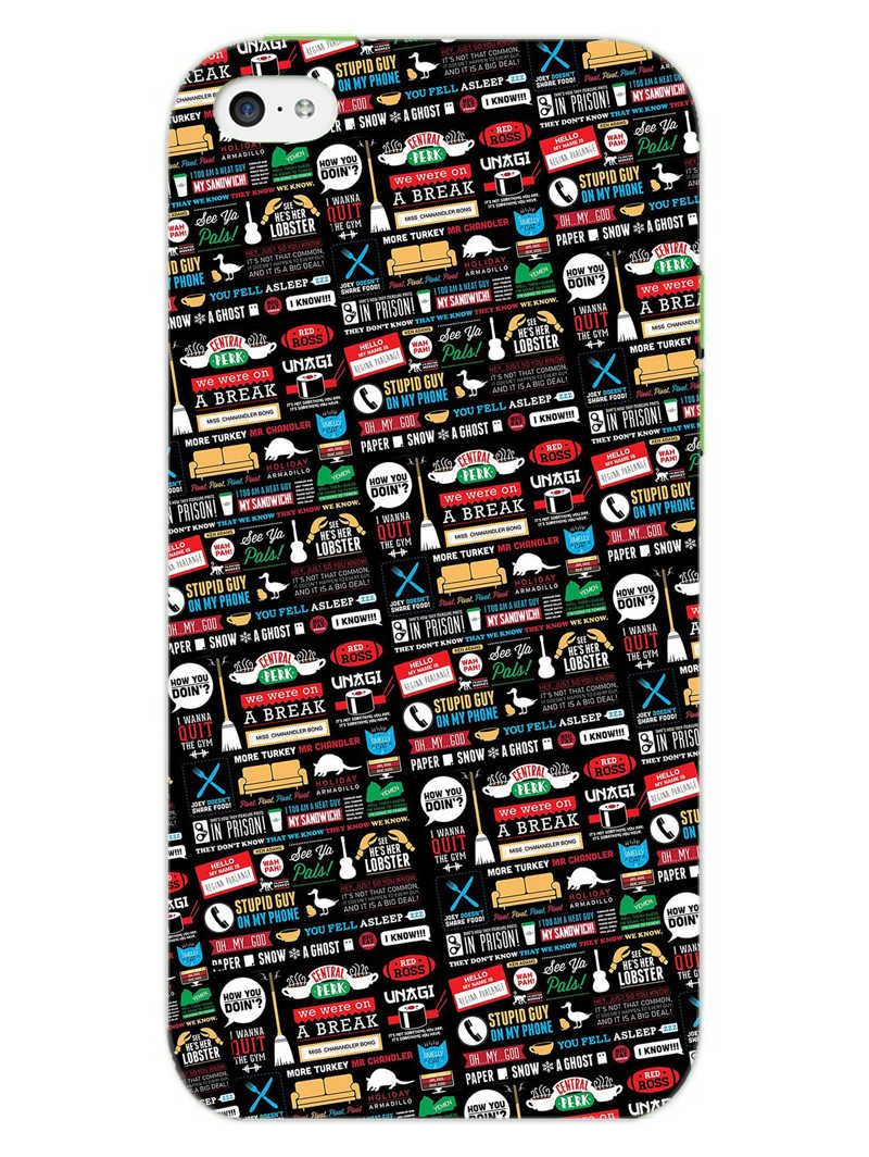 FRIENDS iPhone 5S Mobile Cover Case