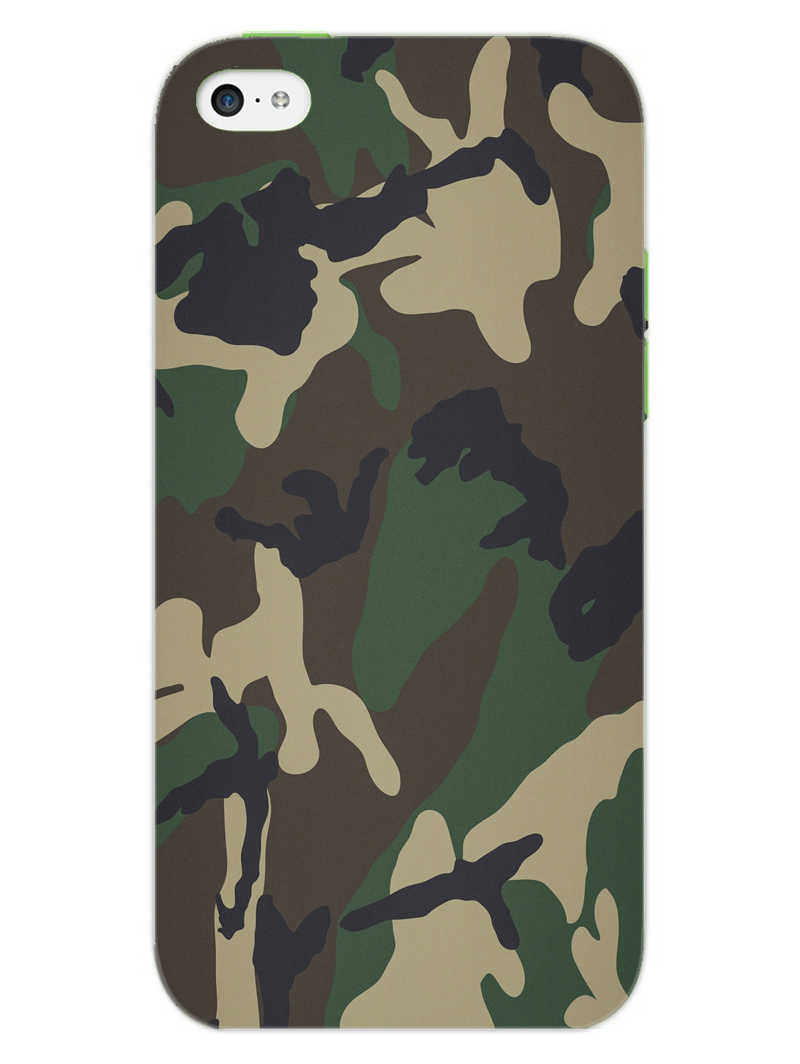 Camouflage iPhone 5S Mobile Cover Case