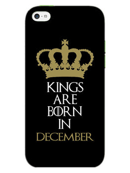 Kings December iPhone 5S Mobile Cover Case