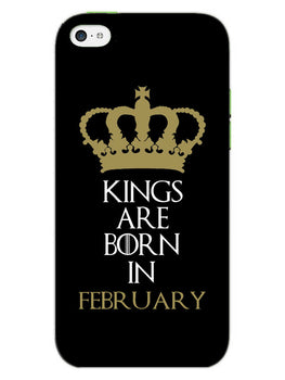 Kings February iPhone 5S Mobile Cover Case