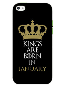 Kings January iPhone 5S Mobile Cover Case