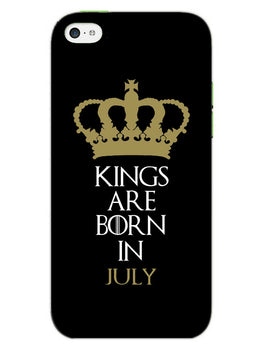 Kings July iPhone 5S Mobile Cover Case