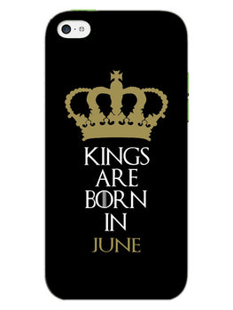 Kings June iPhone 5S Mobile Cover Case