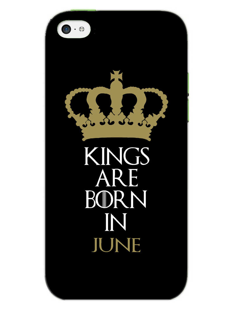 Kings June iPhone 5S Mobile Cover Case - MADANYU