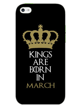 Kings March iPhone 5S Mobile Cover Case