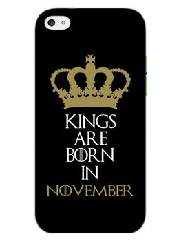 Kings November iPhone 5S Mobile Cover Case