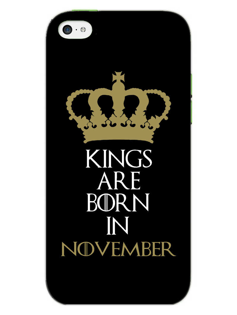 Kings November iPhone 5S Mobile Cover Case - MADANYU