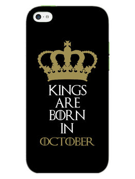 Kings October iPhone 5S Mobile Cover Case