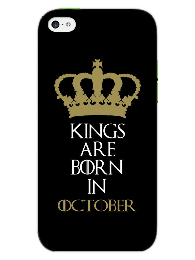 Kings October iPhone 5S Mobile Cover Case - MADANYU