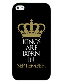 Kings September iPhone 5S Mobile Cover Case