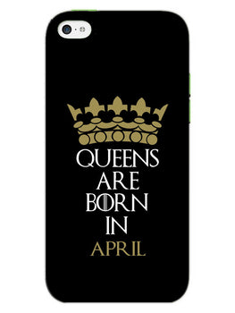Queens April iPhone 5S Mobile Cover Case
