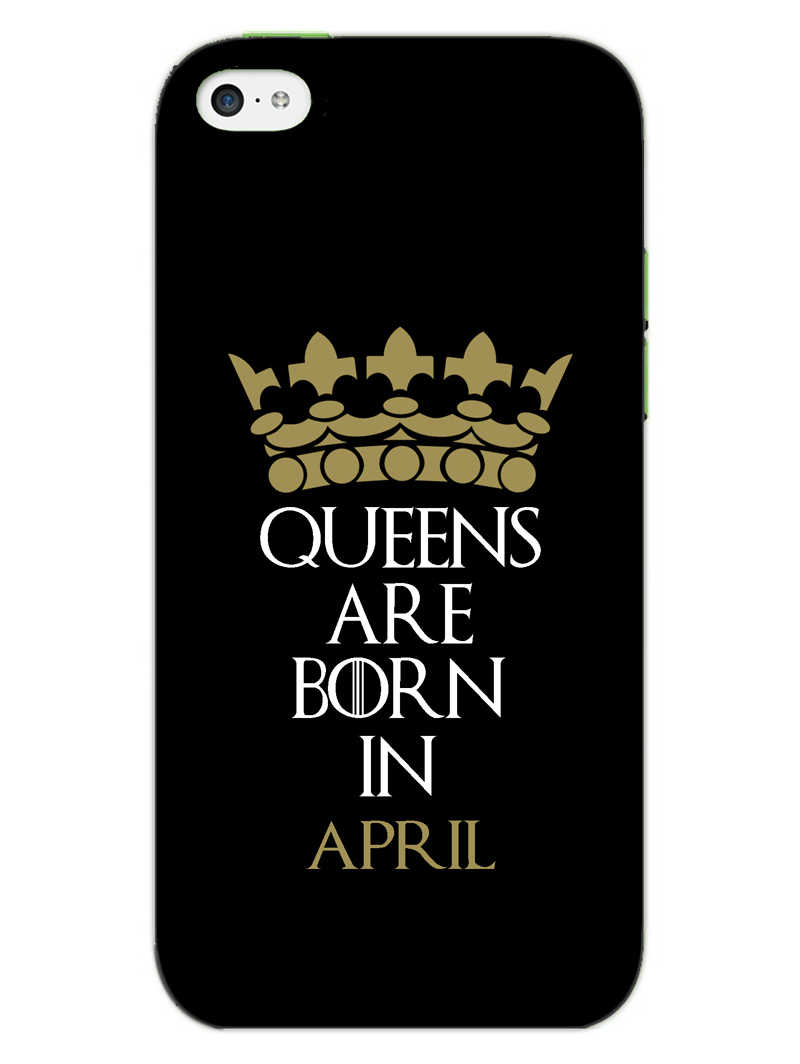 Queens April iPhone 5S Mobile Cover Case - MADANYU