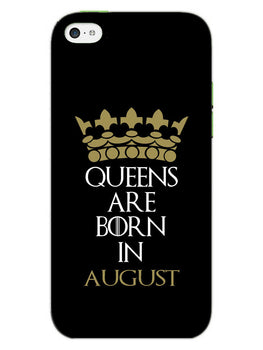 Queens August iPhone 5S Mobile Cover Case