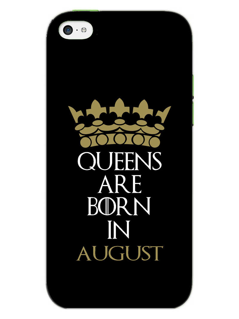 Queens August iPhone 5S Mobile Cover Case - MADANYU