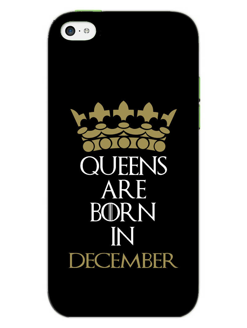 Queens December iPhone 5S Mobile Cover Case - MADANYU