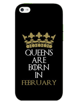 Queens February iPhone 5S Mobile Cover Case