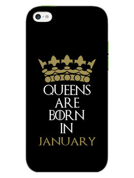 Queens January iPhone 5S Mobile Cover Case