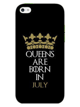 Queens July iPhone 5S Mobile Cover Case