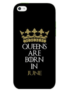 Queens June iPhone 5S Mobile Cover Case