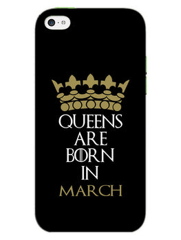 Queens March iPhone 5S Mobile Cover Case