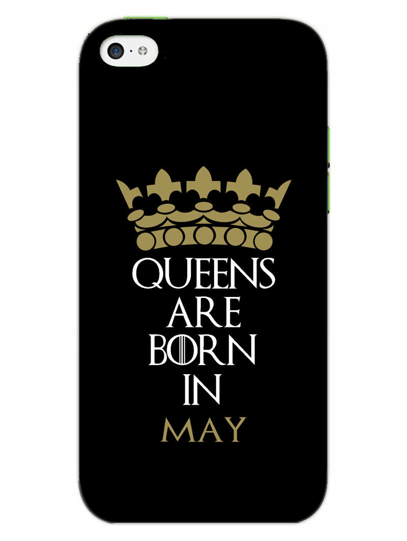 Queens May iPhone 5S Mobile Cover Case
