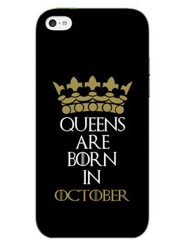 Queens October iPhone 5S Mobile Cover Case