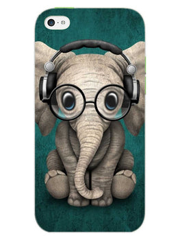 Cute Elephant iPhone 5S Mobile Cover Case