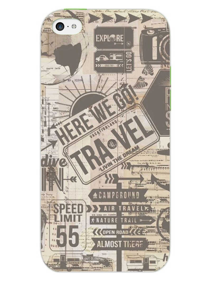 Wanderlust Graffiti iPhone 5S Mobile Cover Case