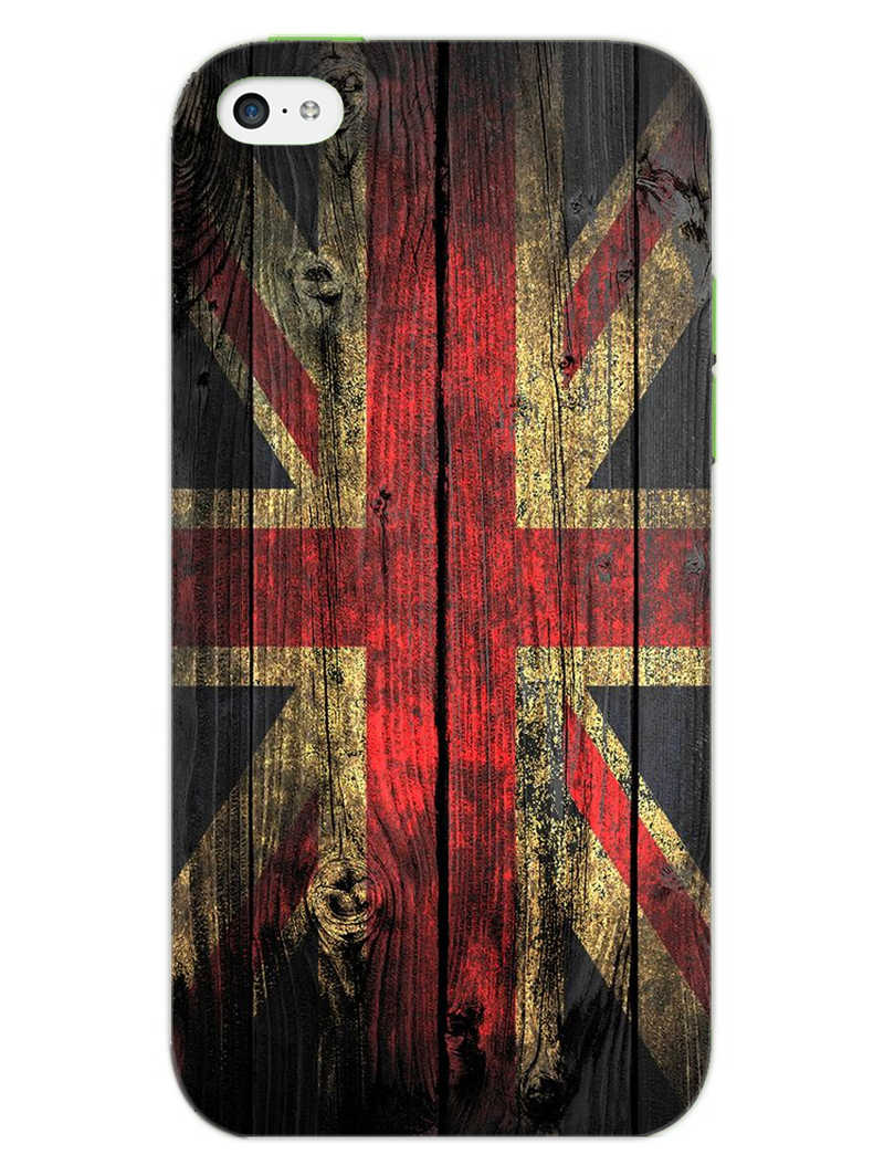 Union Jack iPhone 5S Mobile Cover Case - MADANYU