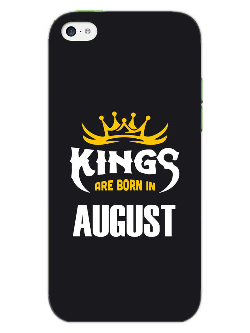 Kings August - Narcissist iPhone 5S Mobile Cover Case