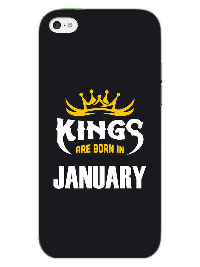 Kings January - Narcissist iPhone 5S Mobile Cover Case