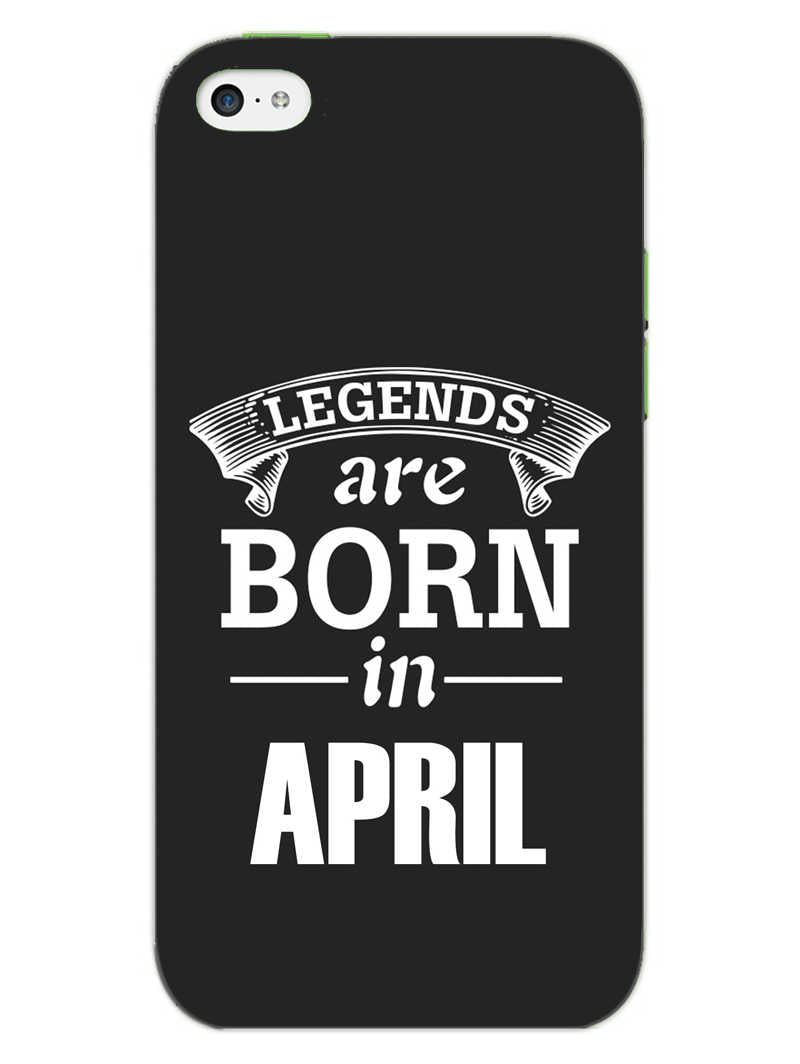 Legends April iPhone 5S Mobile Cover Case