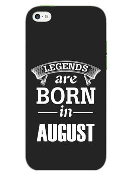 Legends August iPhone 5S Mobile Cover Case