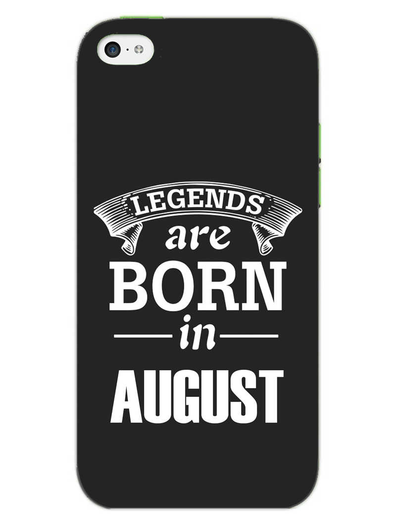 Legends August iPhone 5S Mobile Cover Case - MADANYU